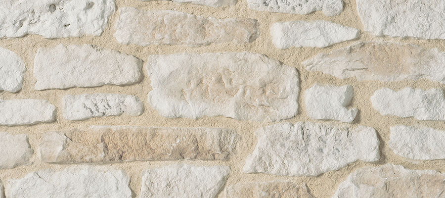 Sand stone wall facing causse for a natural style orsol - Dallage pierre naturelle interieur ...